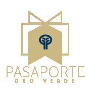 logo pasaporte oro verde